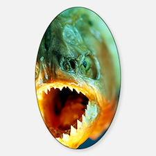 Piranha's mouth Decal