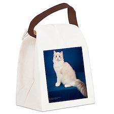 Ragdoll Cat Wall Calendar Canvas Lunch Bag