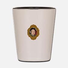 Kim Jong-il White Shot Glass