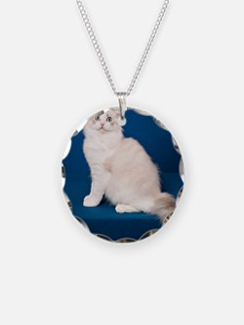 Ragdoll Cat Wall Calendar Necklace