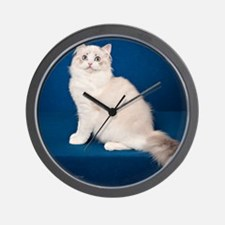 Ragdoll Cat Wall Calendar Wall Clock