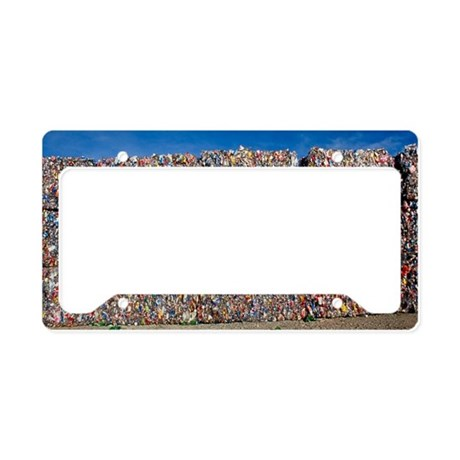 Plastic recycling License Plate Holder