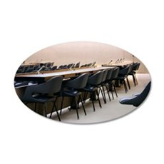 Conference room 35x21 Oval Wall Decal