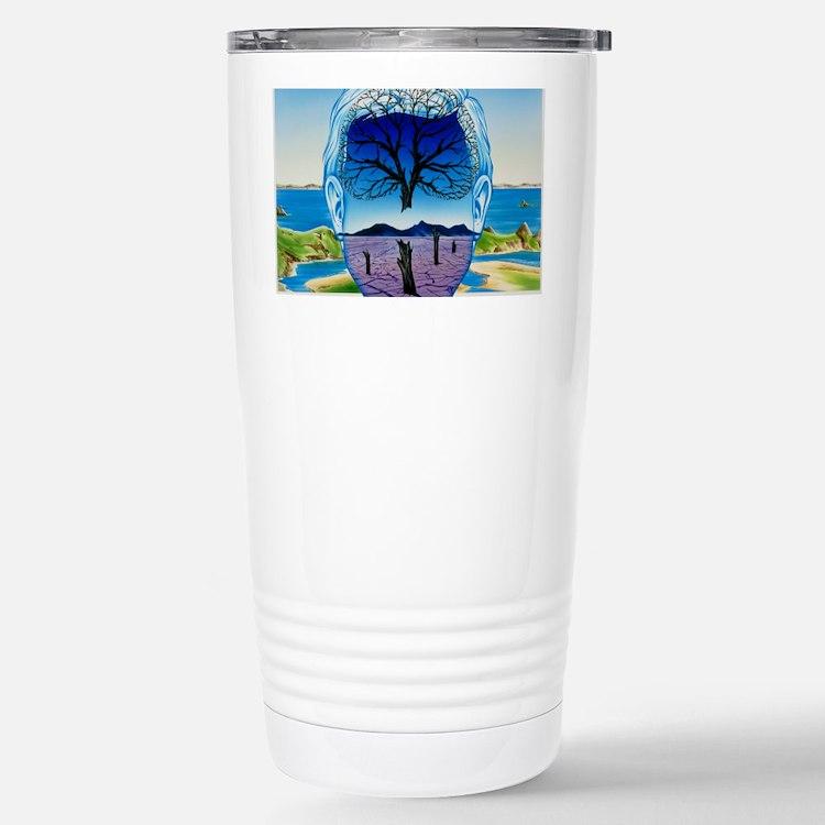 Depression Stainless Steel Travel Mug