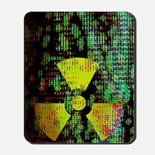 Radiation hazard Mousepad
