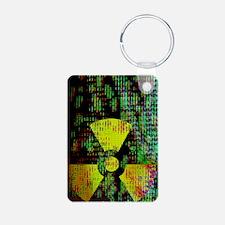 Radiation hazard Keychains