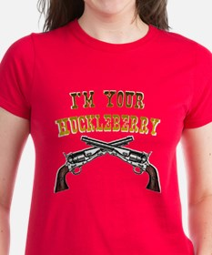 I'm Your Huckleberry two gun Tee