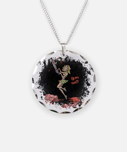 Crazy Chainsaw Girl Necklace