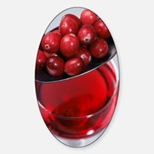 Cranberries and cranberry juice Decal