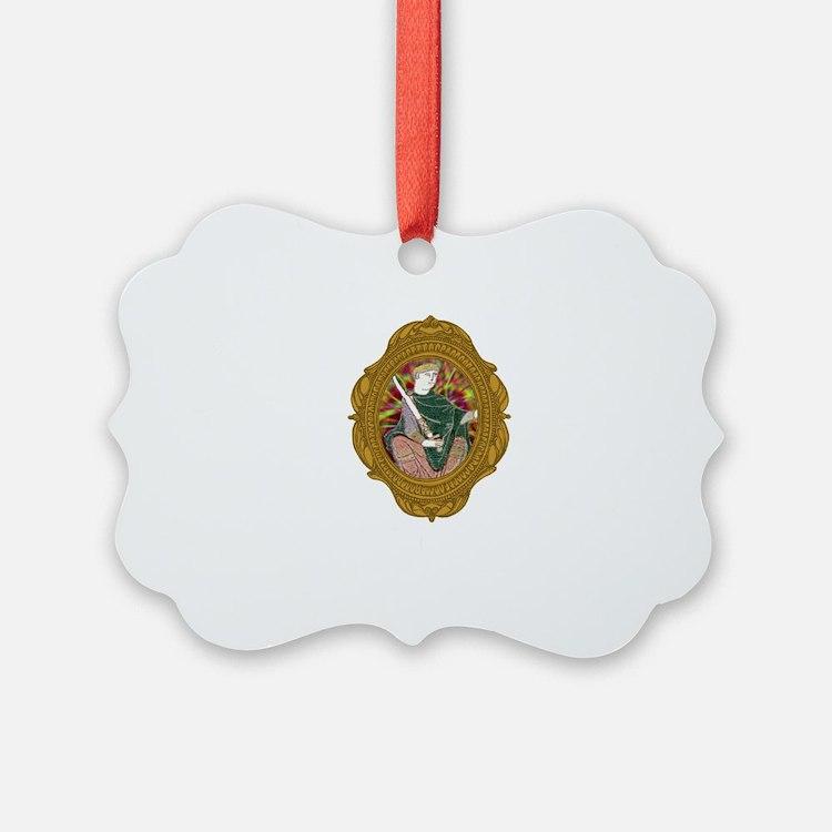 William the Conqueror White Ornament