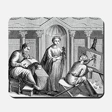 Dioscorides, Ancient Greek physician Mousepad