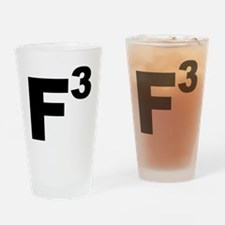 F3 black Drinking Glass