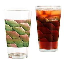 Python skin, SEM Drinking Glass