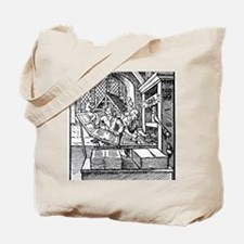Printing press, 16th century Tote Bag