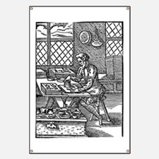 Printing press, 16th century Banner