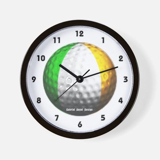 Ireland Golf Wall Clock