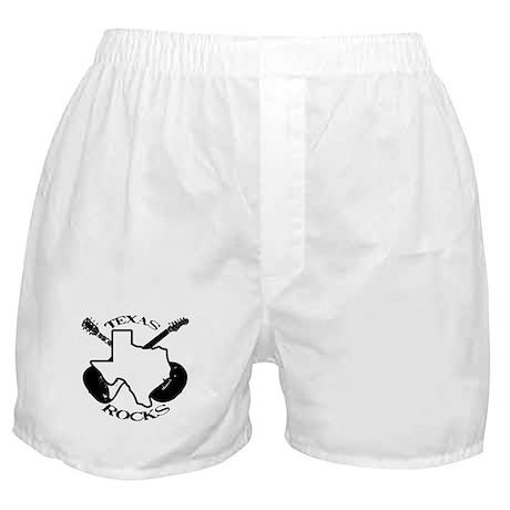 Texas Rocks Boxer Shorts