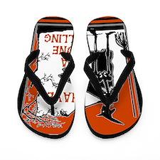 Bone Chilling Halloween Flip Flops