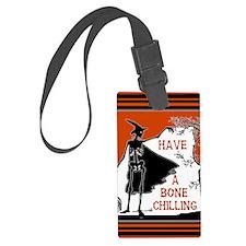 Bone Chilling Halloween Luggage Tag