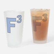 F3 blue Drinking Glass