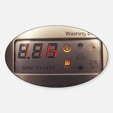 Dishwasher display panel Decal