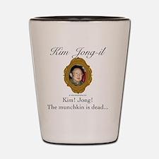 Kim Jong-il Shot Glass