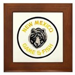 New Mexico Game Warden Framed Tile