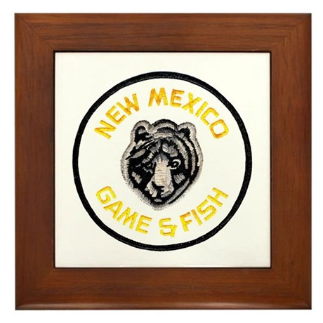 New Mexico Game Warden Framed Tile