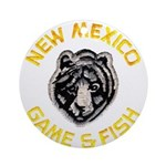 New Mexico Game Warden Ornament (Round)