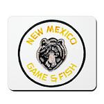 New Mexico Game Warden Mousepad