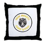 New Mexico Game Warden Throw Pillow