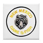 New Mexico Game Warden Tile Coaster