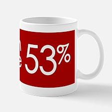 Join the 53 Percent Mug