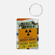 Radiation hazard sign at A Keychains