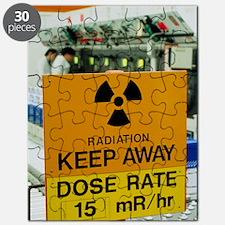 Radiation hazard sign at Amersham Internati Puzzle