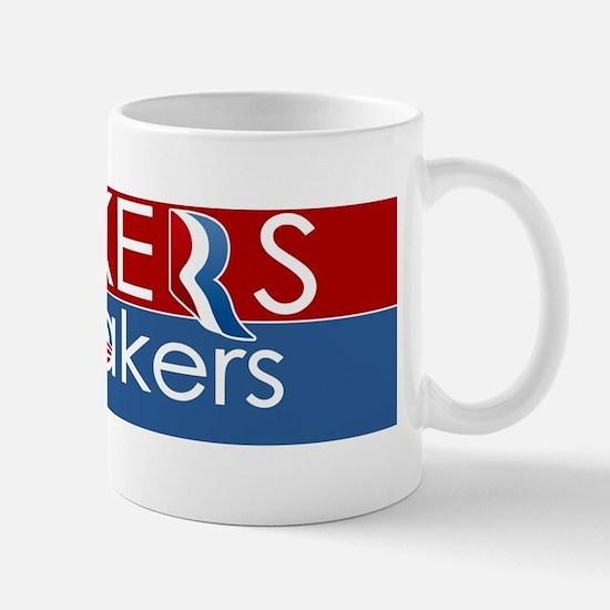 Makers vs. Takers Mug