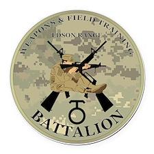 WeaponsandFieldTraining-EdsonRang Round Car Magnet