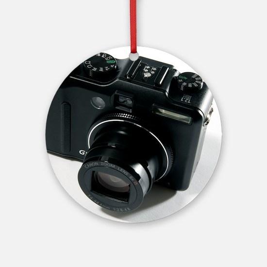 Digital camera Round Ornament