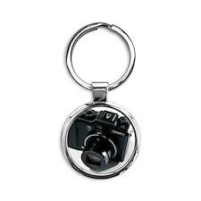 Digital camera Round Keychain