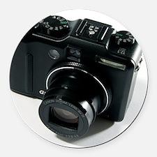 Digital camera Round Car Magnet