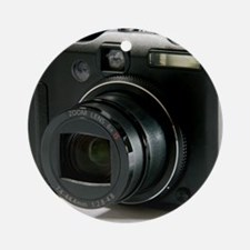 Digital camera Round Ornament