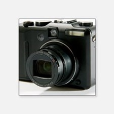 "Digital camera Square Sticker 3"" x 3"""