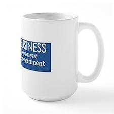 I Built My Business Mug