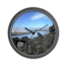 Geothermal reykjanes Wall Clock
