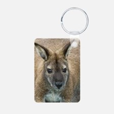 Red-necked wallaby Keychains