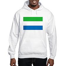 Sierra Leone Flag Hoodie