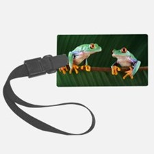 Red-eyed tree frogs Luggage Tag