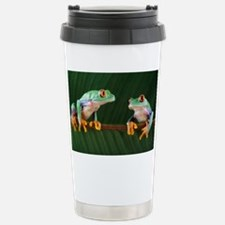 Red-eyed tree frogs Stainless Steel Travel Mug