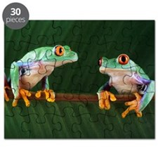 Red-eyed tree frogs Puzzle