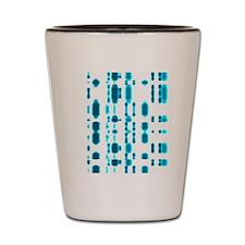 DNA autoradiogram Shot Glass